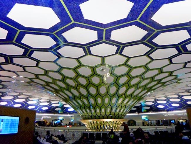 Купол в аэропорту Абу-Даби