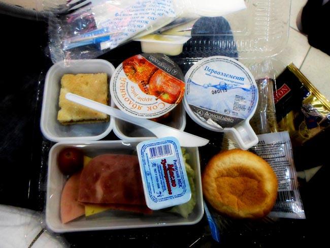 Еда в самолетах Etihad
