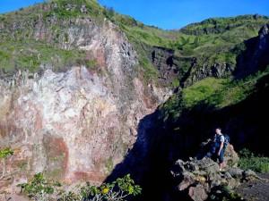 Кратер вулкана Батур
