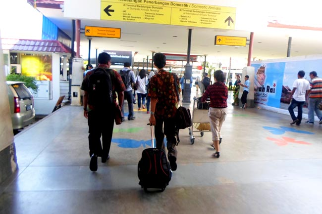 Аэропорт в Денпасаре