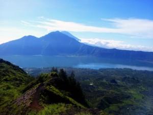 Подьем на вулкан Батур