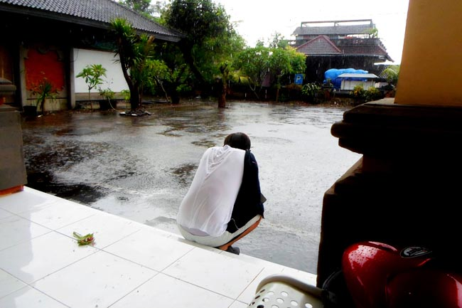 Дождь на Бали