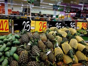 Цены на ананас на Самуи