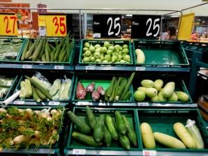 ценник на овощи