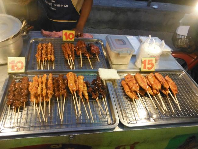 Еда на рынках Самуи