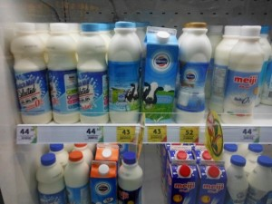 Молоко на Самуи