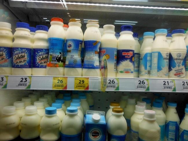 Молоко ценник