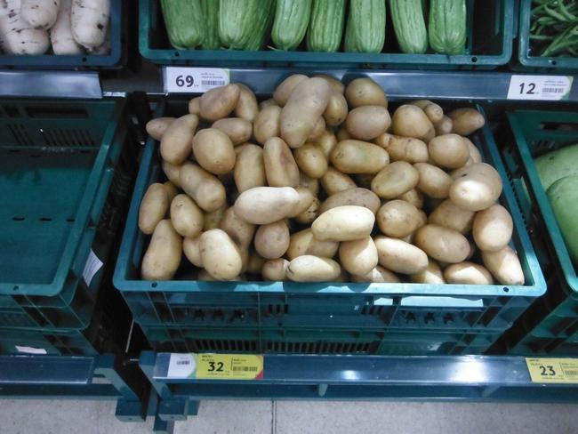 Ценник картошка на Самуи